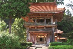 写真1:長江寺山門を選択