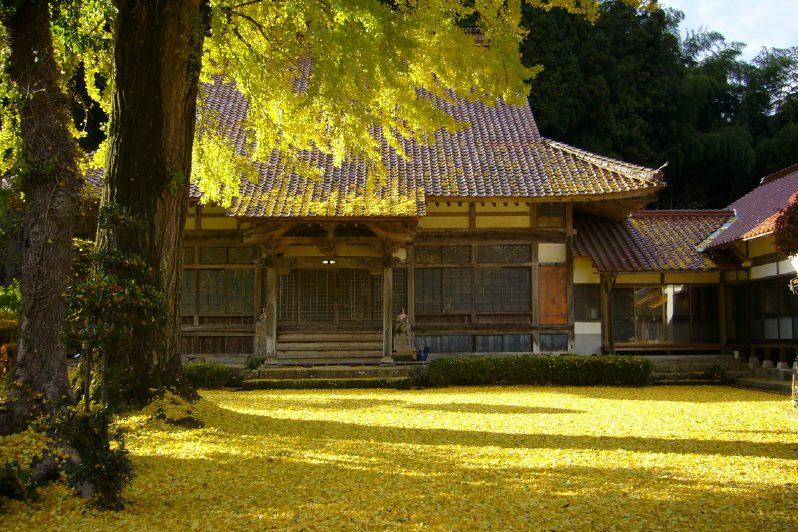 写真2:長江寺境内