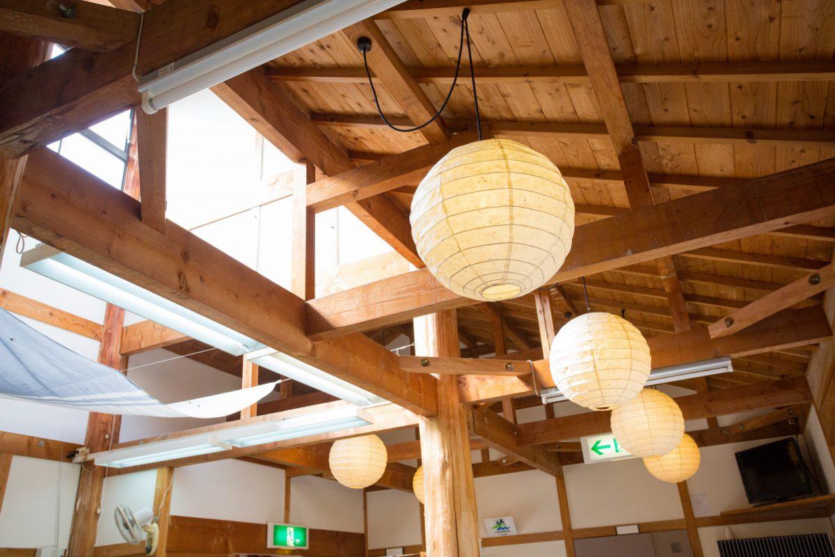 写真2:笹遊里館内