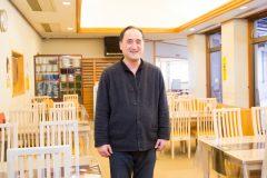 写真1:弥山荘の店主を選択