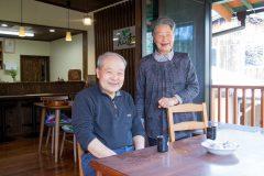 写真1:カフェを営む竹下さん夫婦を選択