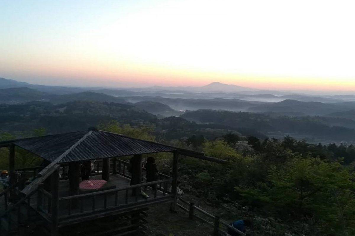 写真1:丸山城跡からの眺め