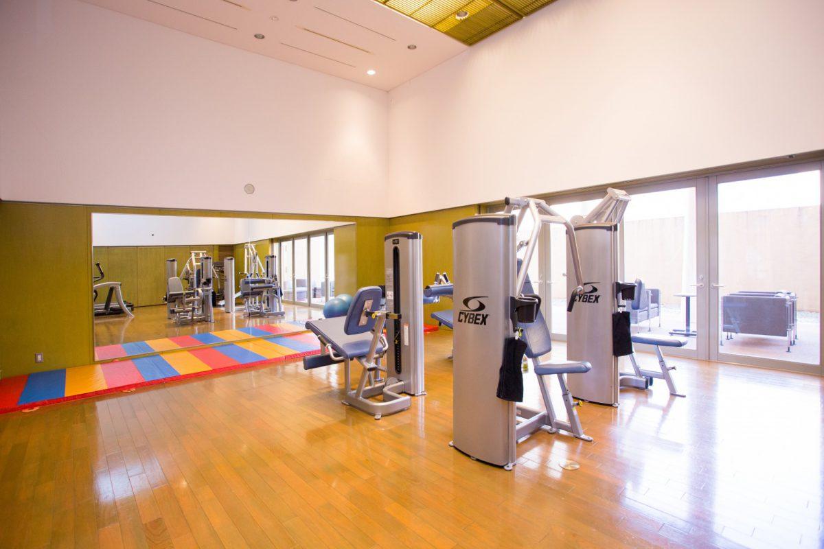 写真4:トレーニングルーム