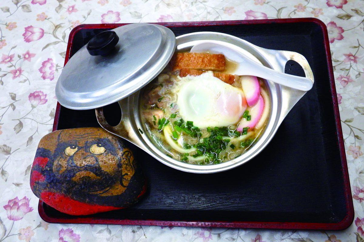 写真1:飯田食堂の料理