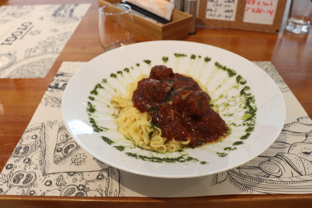 写真2:レストランおとぎのパスタ
