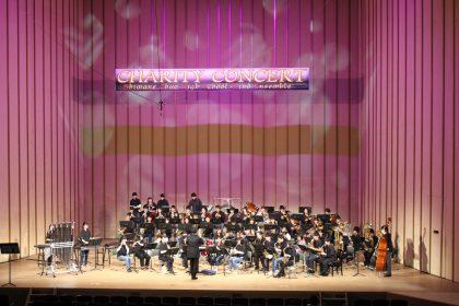 写真:川本高校吹奏楽部の演奏の様子