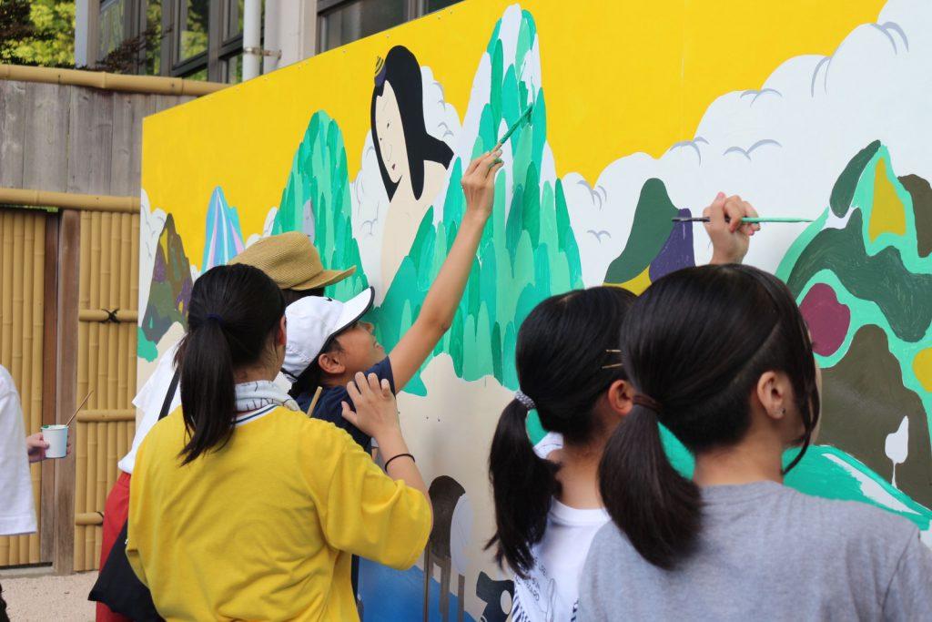 写真:壁画アート